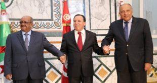 ليبيا تونس الجزائر
